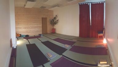 Cours de Yoga par Claire